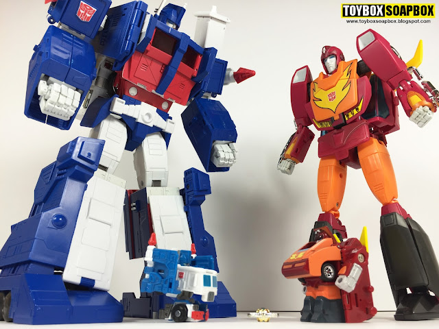 qtf05 q transformers ultra magnus and rodimus prime