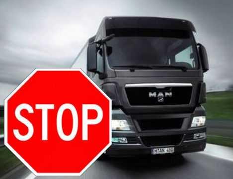 """""""Φορτώνουν"""" με νέα βάρη τους επαγγελματίες οδηγούς - Απαγόρευση κίνησης φορτηγών στους παράπλευρους δρόμους των Εθνικών οδών"""
