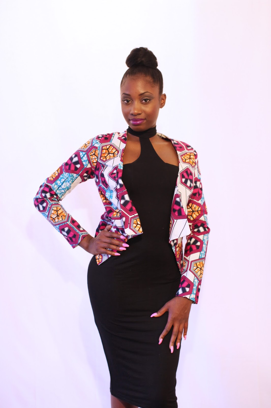 Best Top Listed Ankara Jacket New Look Fashionly