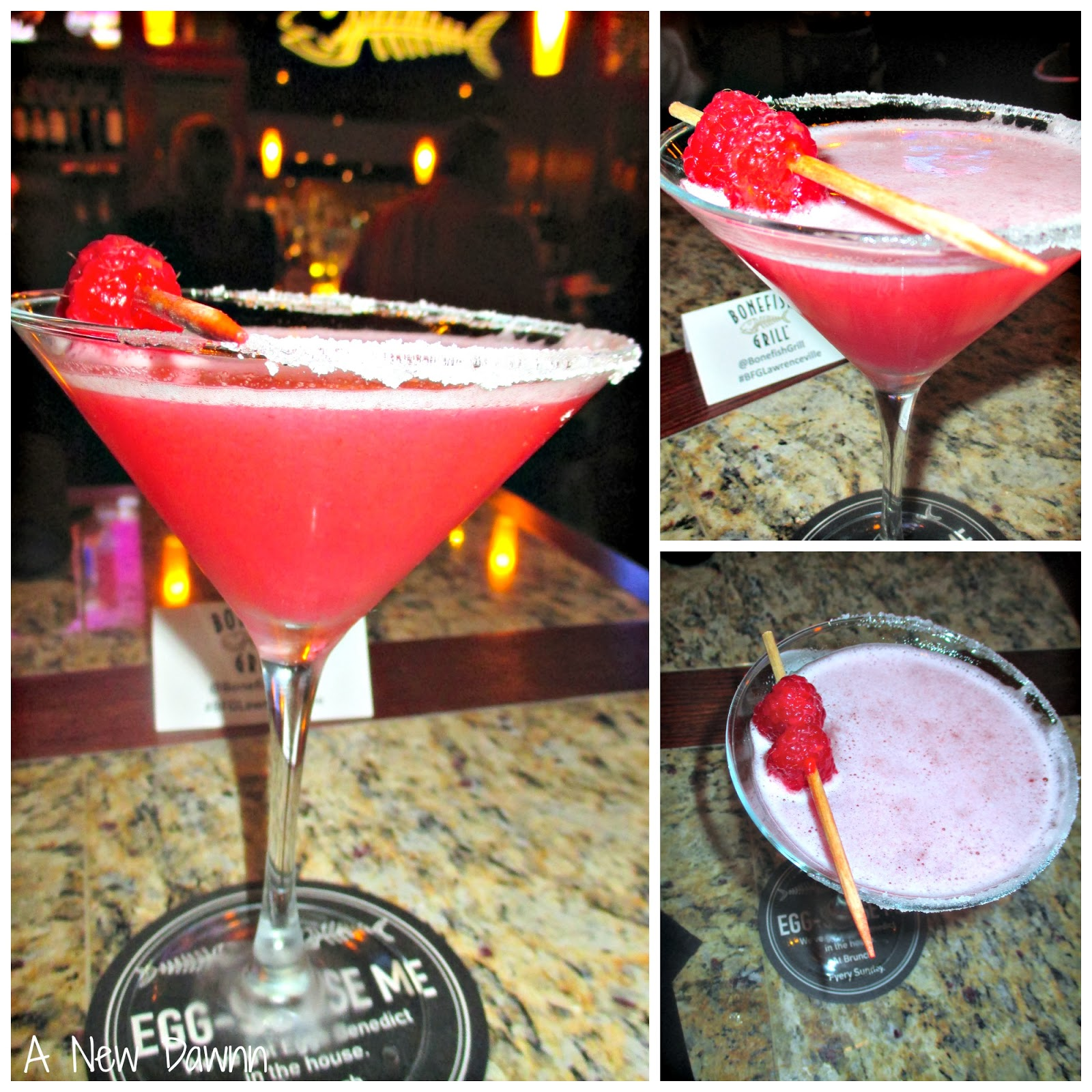 Bonefish Grill Raspberry Martini