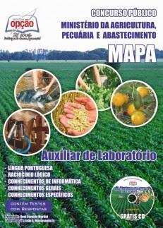 concurso Ministério da Agricultura
