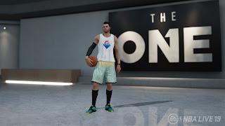 NBA Live 19 Wii U Wallpaper