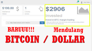 Baruu!!! Situs Baru Mendulang Bitcoin Gratis - Buruan Daftar Sebelum Ketinggalan