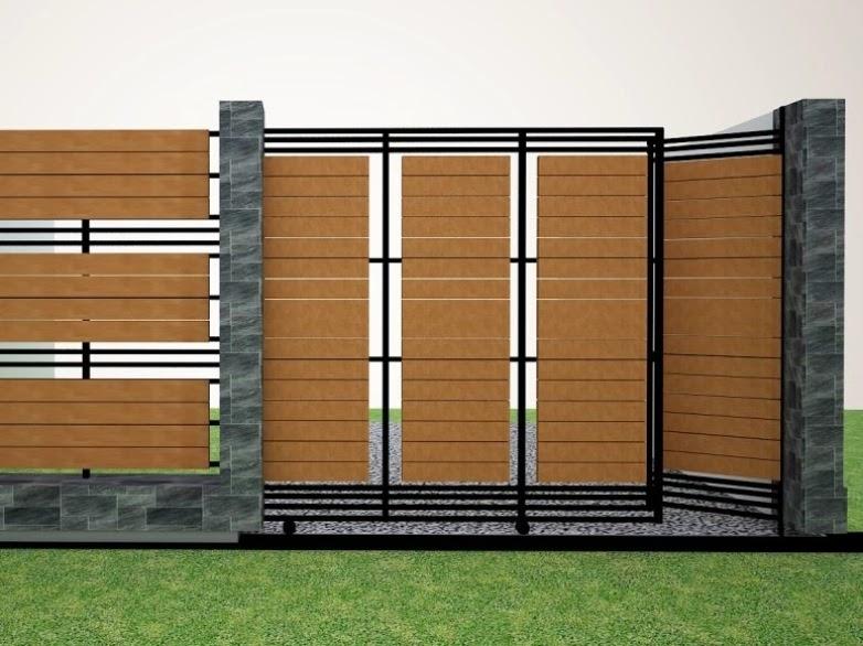 Tips Mimilih Pagar Rumah Minimalis Desain Furniture