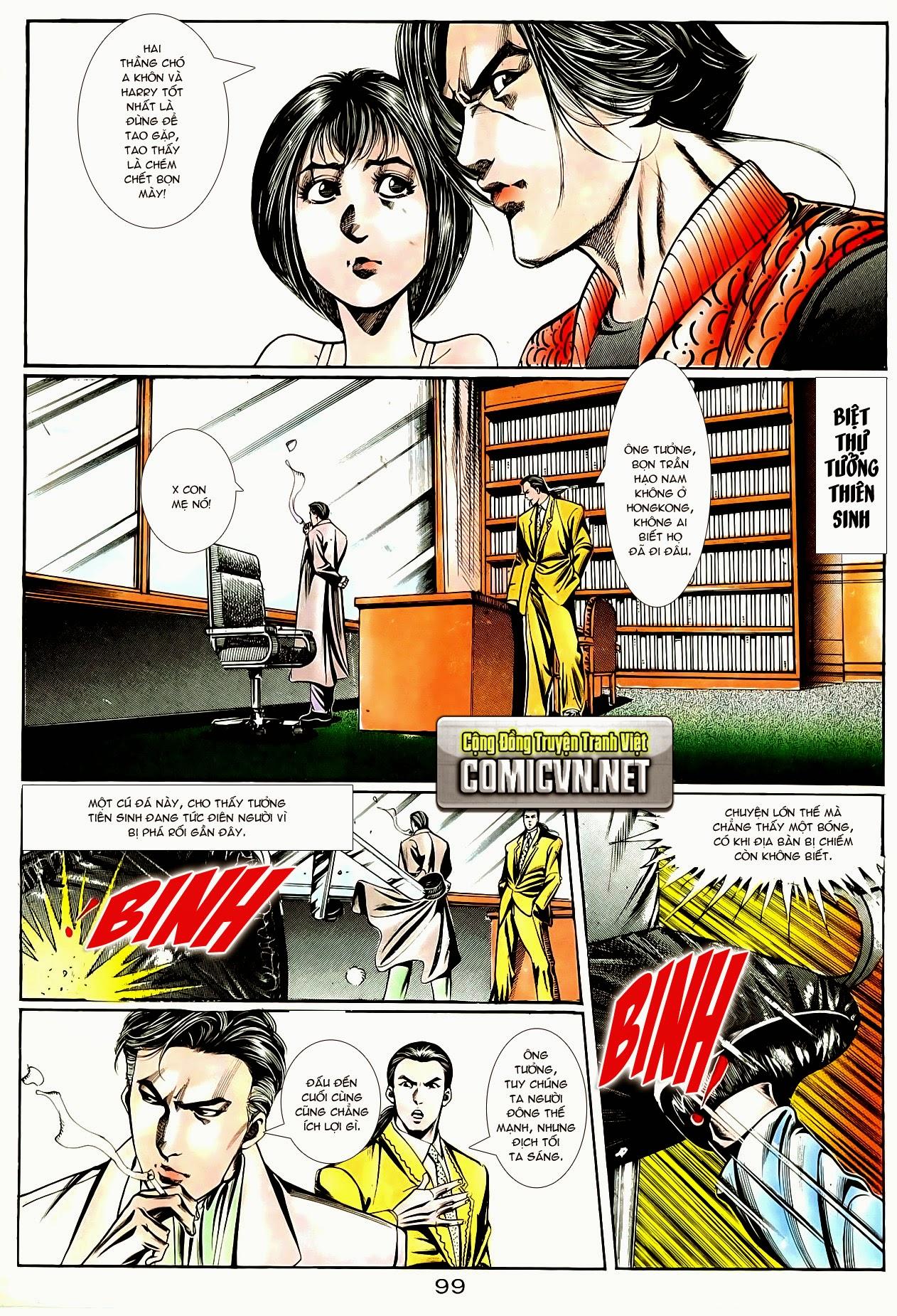 Người Trong Giang Hồ chapter 83: tiêu diệt rồng qua sông trang 22