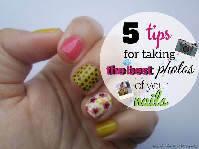 5 Tips for taking best photos of your nails - Συμβουλές για να βγάζεις σωστές φωτογραφίες των νυχιών σου
