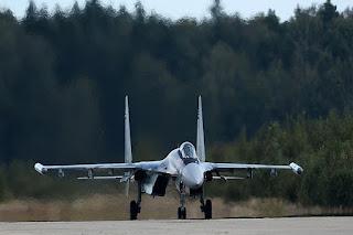 Jet Su-35 Rusia