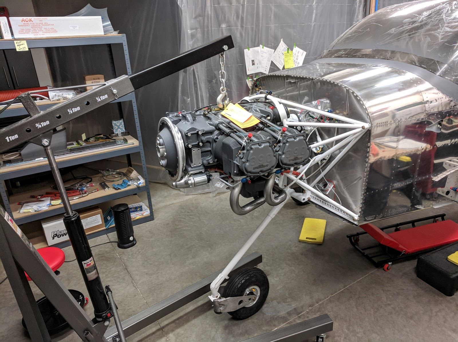 Steevo's RV14a Build Log: January 2018