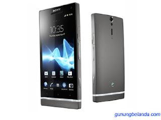 Cara Flash Sony Xperia SL LT26ii