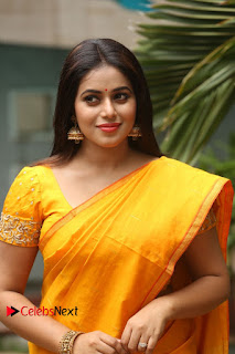 Actress Poorna Pictures in Saree at Avanthika Movie Opening  0009
