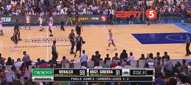 Meralco def. Ginebra, 98-91 (REPLAY VIDEO) Finals Game 6 / October 25
