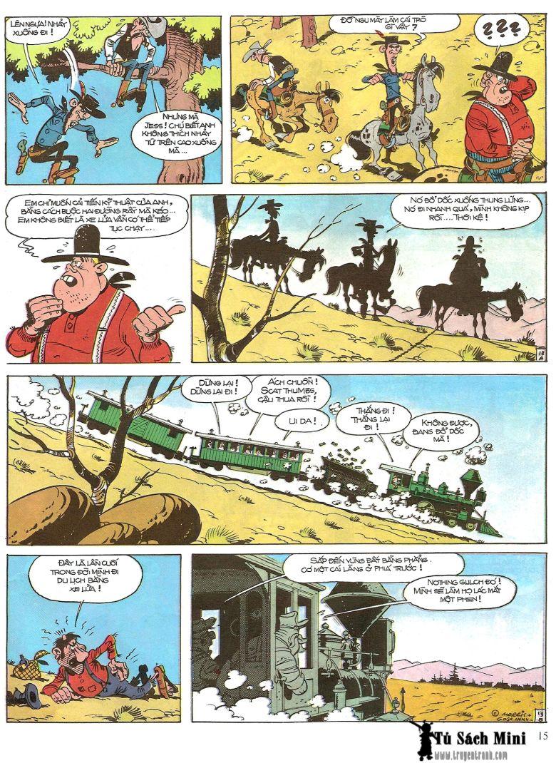 Lucky Luke tap 16 - jesse james hiep si rung xanh trang 17