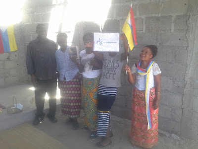Photos of Eternal Church of Guanduania Members after Sunday Sevice