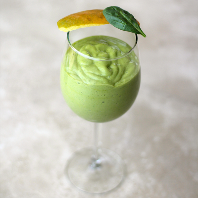 Healthy Green Mango Lassi Recipe - Desserts with Benefits