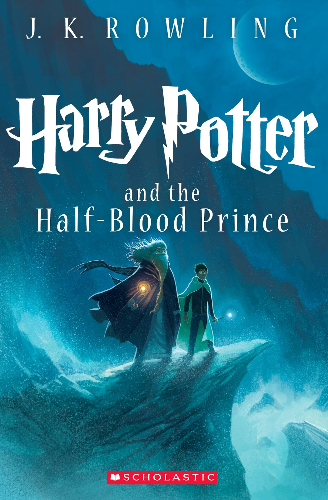 Harry Potter And The Half-Blood Prince Cover By Kazu Kibuishi