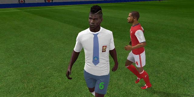 kit dream league soccer baju seragam sma