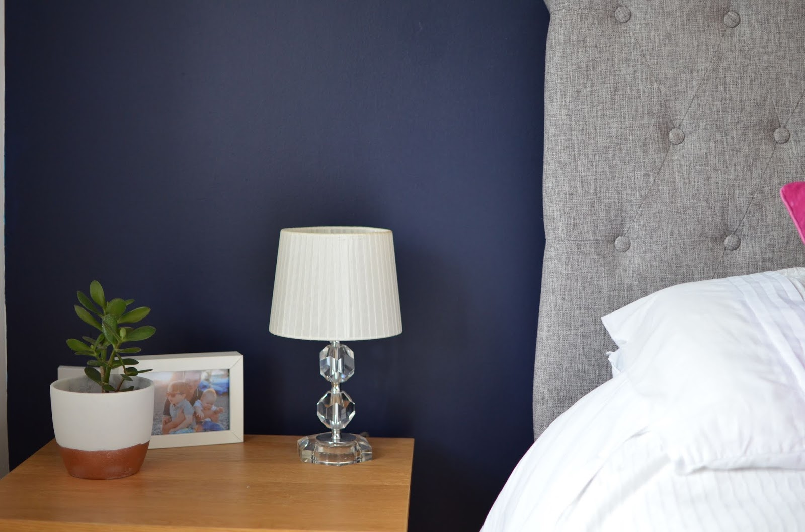 A Bedroom Makeover- Part 1 {ft  Valspar Paint} | Oh Little