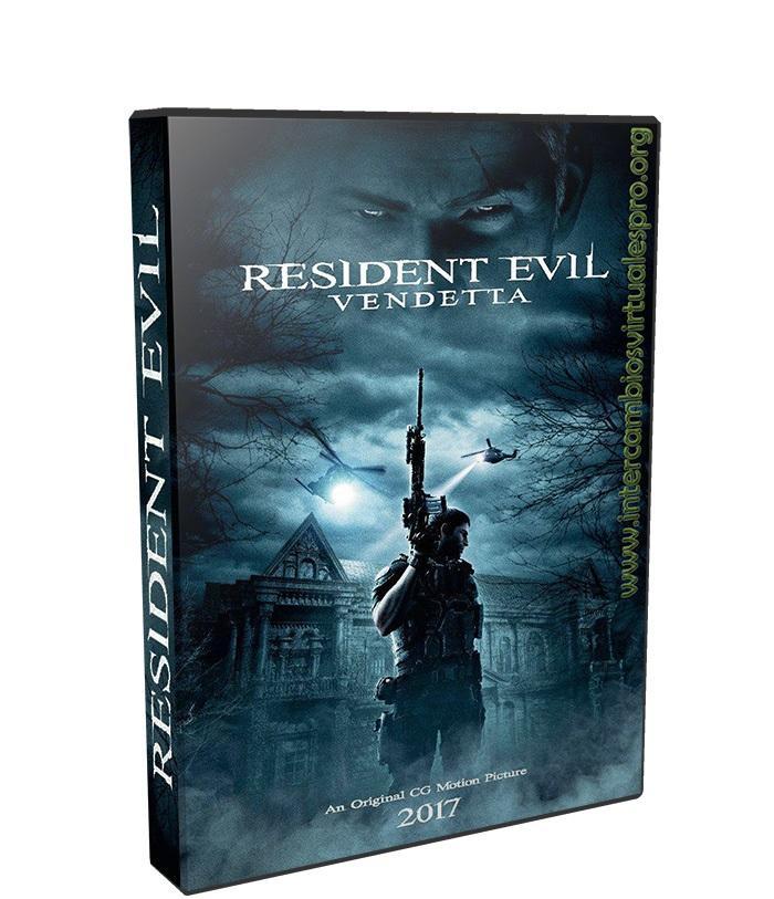 Resident Evil: Vendetta poster box cover