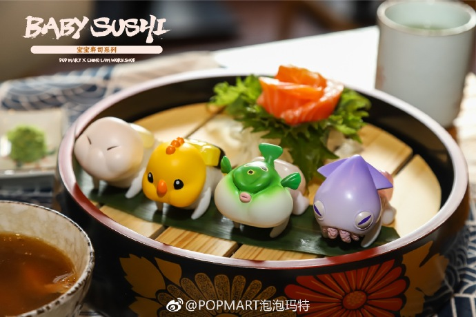 BABY SUSHI by Chino Lam x POPMART (For March Release)