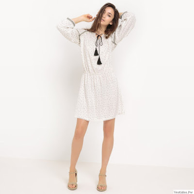 Vestidos Blancos Casuales