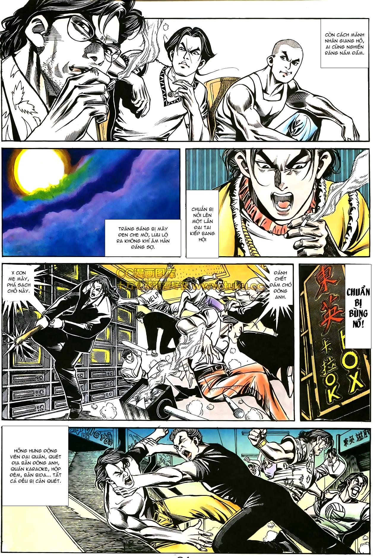 Người Trong Giang Hồ chapter 178: bối cảnh quạ đen trang 12