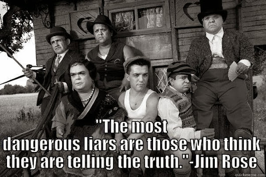 THE MOST DANGEROUS LIARS