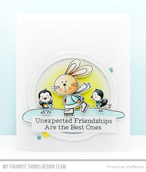 Handmade card by Francine Vuilleme featuring products from My Favorite Things #mftstamps