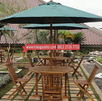 Meja Payung Jati
