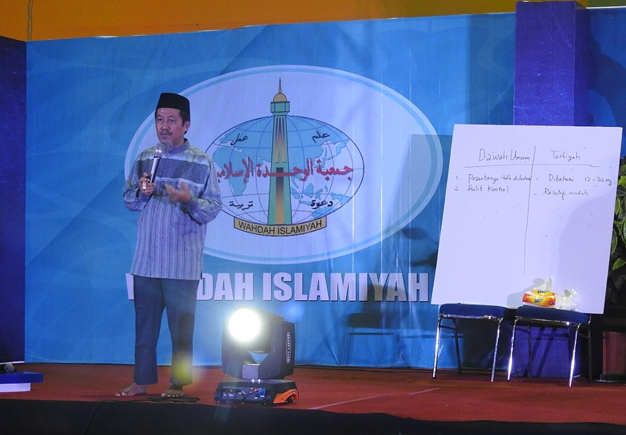 Ustadz Qasim: Tarbiyah Termasuk Sistem Pendidikan Non Formal