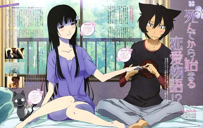 Sankarea OSR 10 Daftar Anime Bertema Zombie Paling Seru