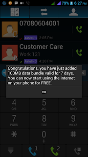 Free 100mb Or 200mb From Airtel Now