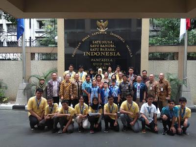 Timnas Indonesia Berjaya di Kompetisi Robot Internasional