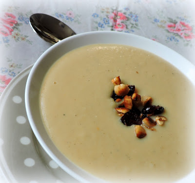 Creamy Parsnip Soup, with Ginger & Cardamom