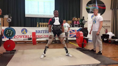 Mr Prince Kennedy, an indigene of Imo state, Breaks World Record In Power Lifting Competition In The UK (Photos) Hkn1