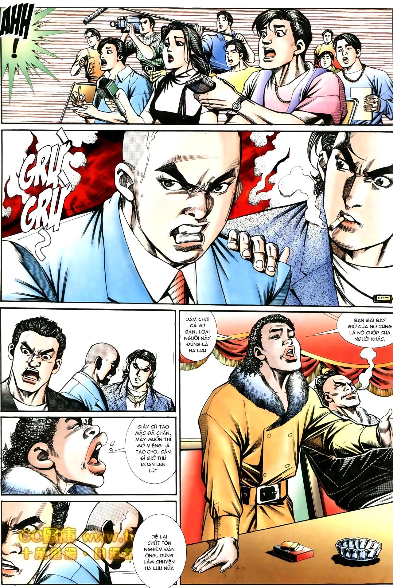 Người Trong Giang Hồ chapter 194: ngờ vực của đại phi trang 10