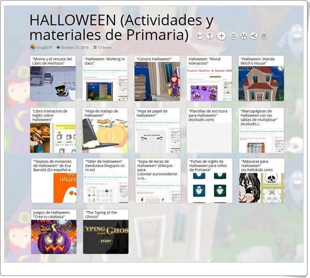"""""""17 Actividades y materiales para trabajar HALLOWEEN en Educación Primaria"""""""