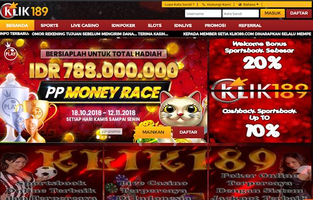 Klik189 Agen Situs Judi Bola Online Terpercaya Di Indonesia