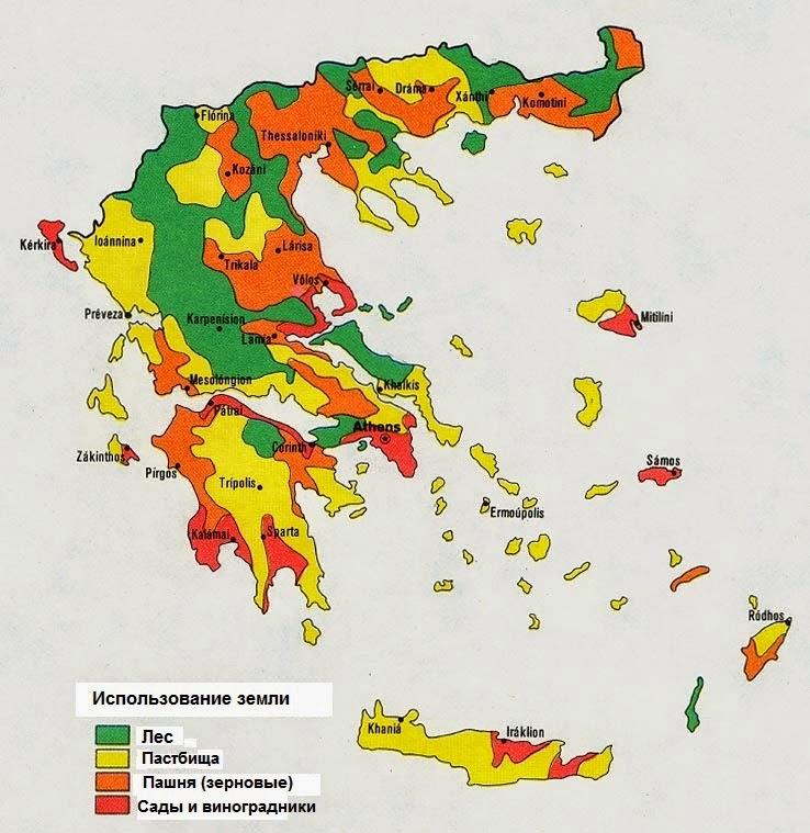 Климат в древней греции