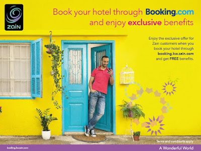 Source: Zain Group. Zain to offer rewards for Booking.com orders.