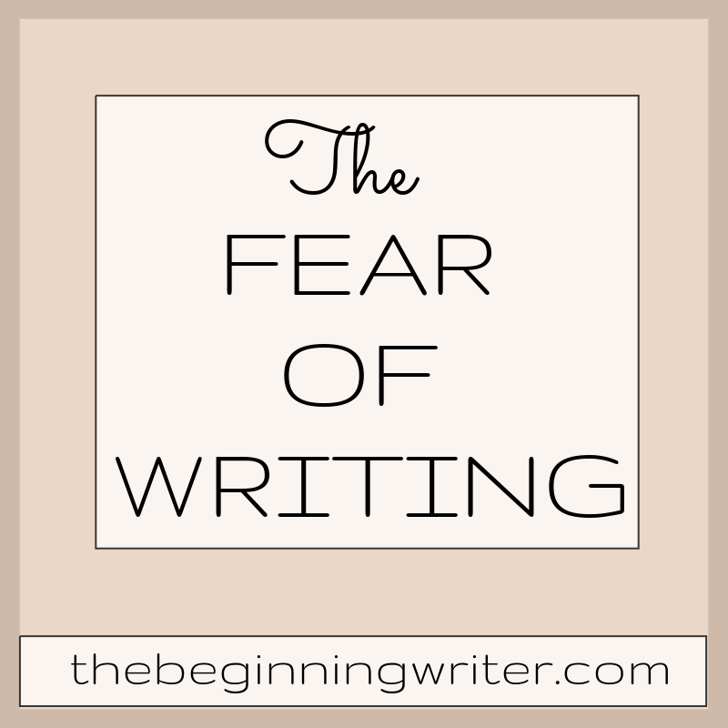 fear of writing