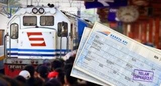 tips agar tak kehabisan tiket kereta api