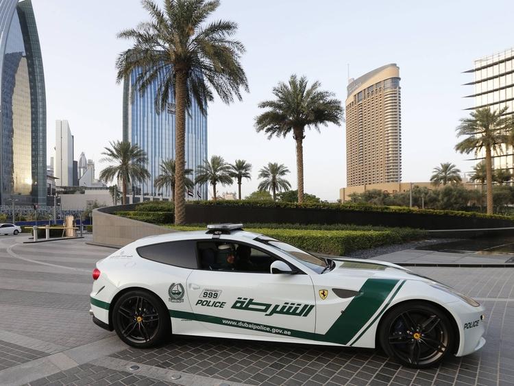 ferrariff Τα 10 ακριβότερα περιπολικά στο Ντουμπάι