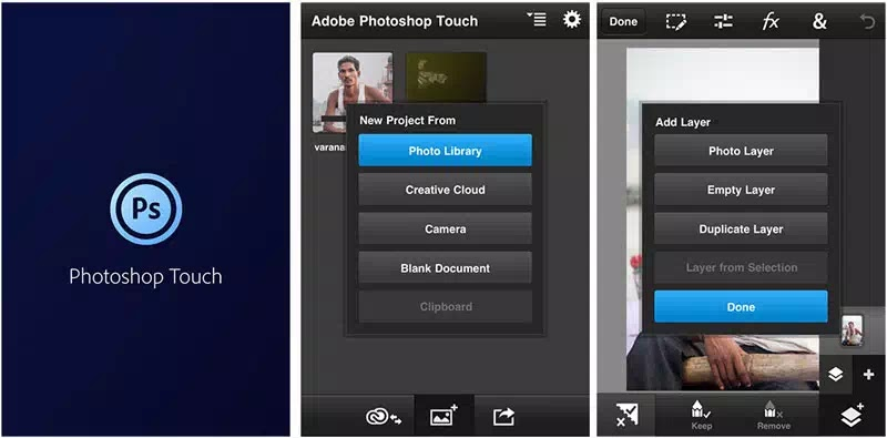 Download Photoshop ps touch apk for Android