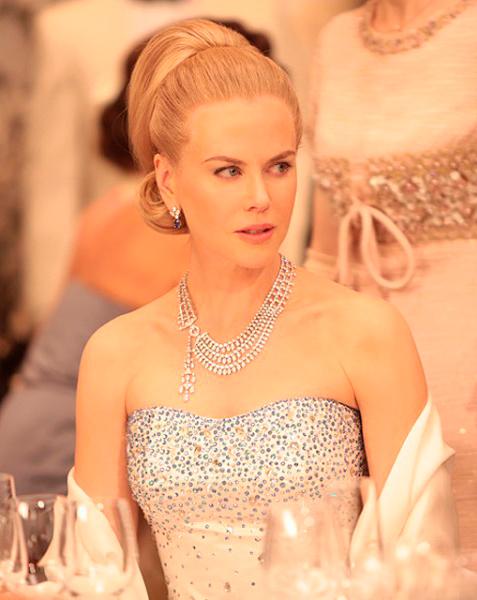 Colar de diamantes, filme Grace de Monaco, da Cartier