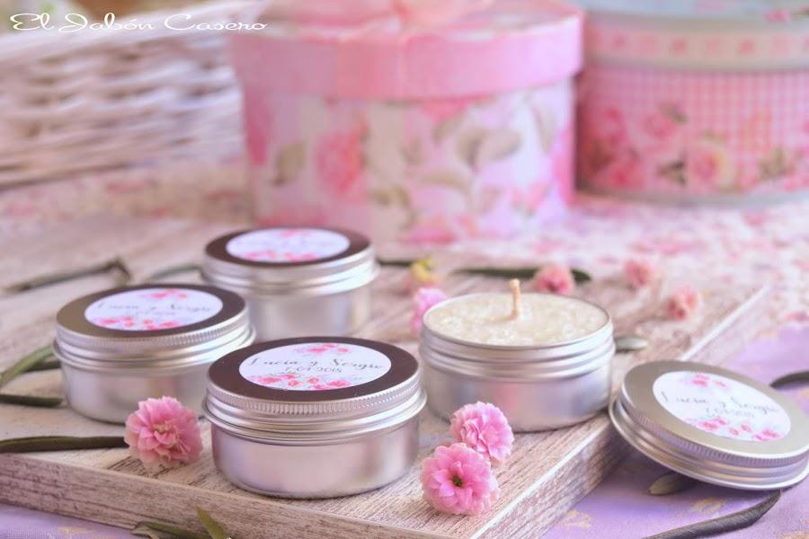 Velas aromaticas para detalles de boda regalos invitados