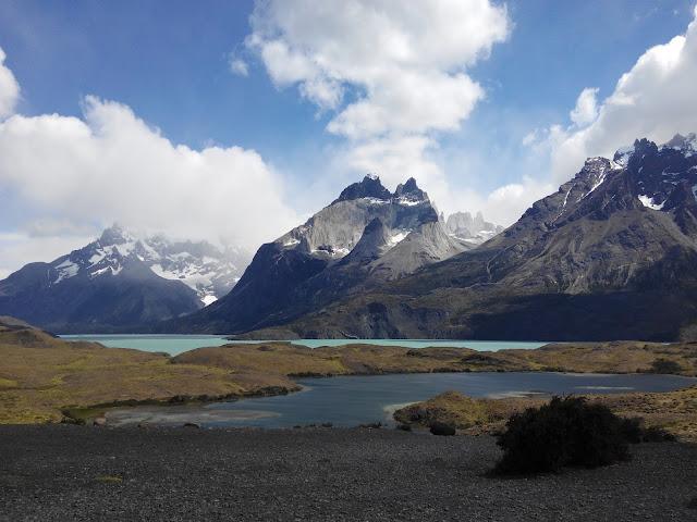 Cuernos del Paine desde el lago Nordenskjöld