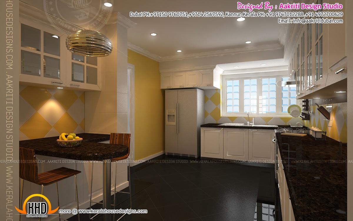 interior design living room dining room kitchen kerala home design room interior design kitchen interior design home design