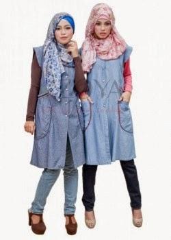 Model pakaian islamic dimana diminati remaja