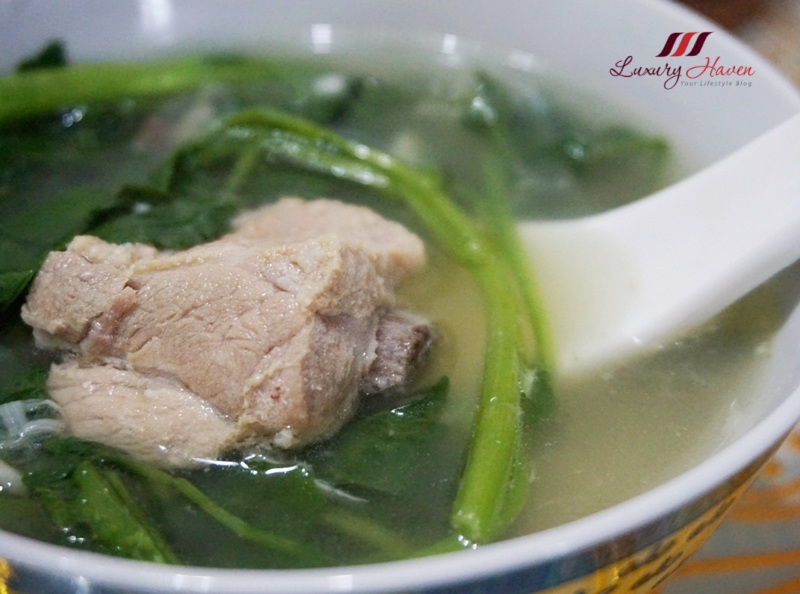 singapore white pepper watercress pork rib soup