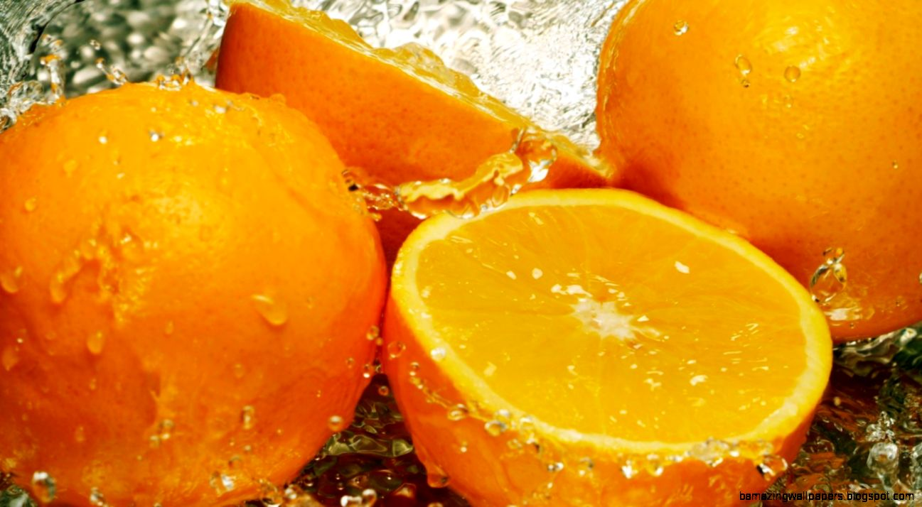 orange fruit wallpaper hd for desktop laptop and mobile